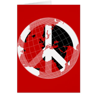 World Peace Greeting Card