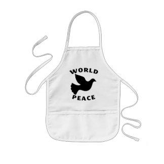 World Peace Kids Apron