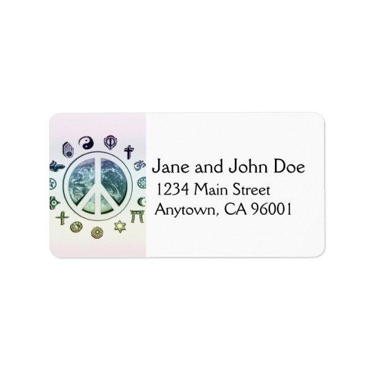World Peace Label