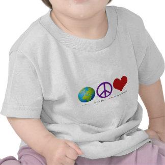 World Peace Love Tshirts