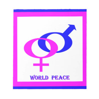 World Peace (Men and Women United) Notepads