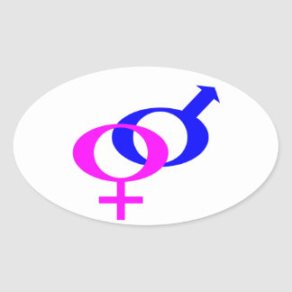 World Peace (Men and Women United) Oval Sticker