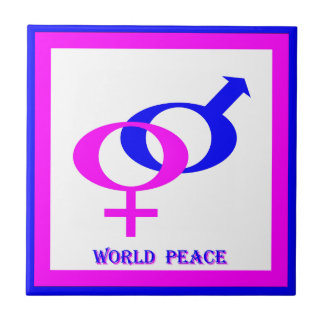 World Peace (Men and Women United) Tile