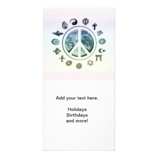 World Peace Picture Card