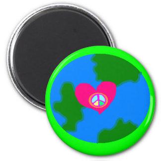 World Peace Pistachio Magnet