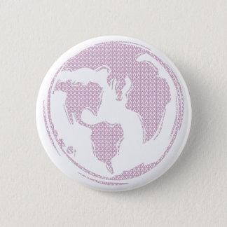 World Peace (Purple) 6 Cm Round Badge