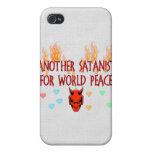 World Peace Satanist iPhone 4 Cover