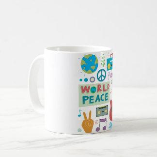 World Peace Symbols Mug