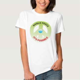 World Peace Tee Shirts