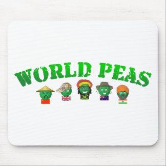 World Peas Mouse Pad