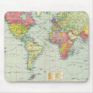 World political Map Mouse Pad