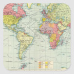 World political Map Stickers