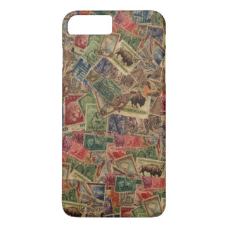 World Postage Stamps Collection iPhone 8 Plus/7 Plus Case