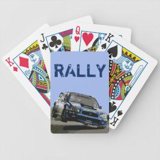 WORLD RALLY - WRX STI BICYCLE PLAYING CARDS
