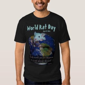 World Rat Day Tee Shirts