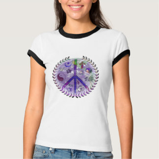 World Religion Peace Sign CoExist T-Shirt