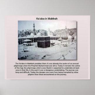 World Religions, Islam, Ka'aba, Makkah Poster