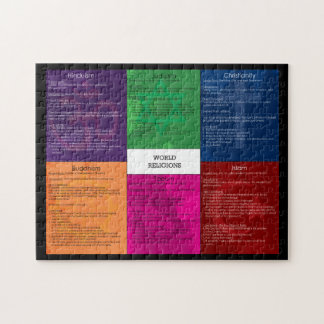 World Religions Puzzle