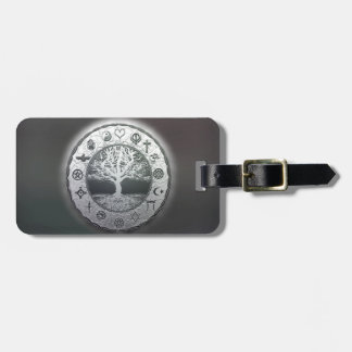 World Religions Tree of Life Luggage Tag