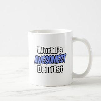 World s Awesomest Dentist Coffee Mugs