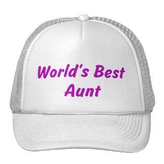 World s Best Aunt Hat