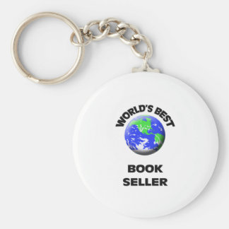 World s Best Book Seller Keychain