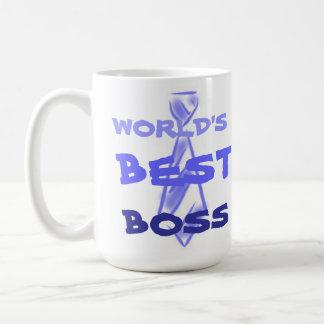 World s best boss office employer employee coffee mugs