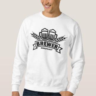 World's best brewer sweatshirt