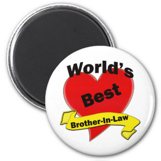 World s Best Brother-In-Law Refrigerator Magnet