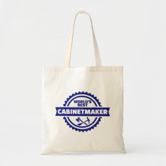 World's best cabinetmaker tote bag