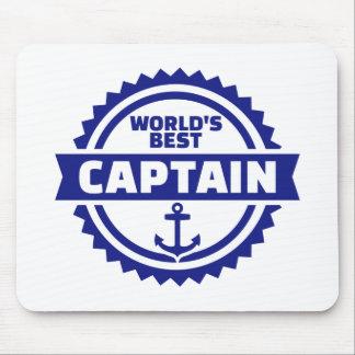 World's best captain mouse pad