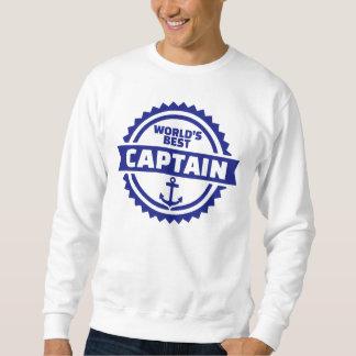 World's best captain sweatshirt