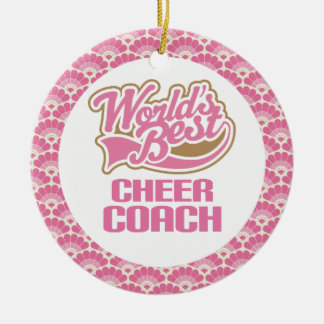 World's Best Cheer Coach Gift Ornament
