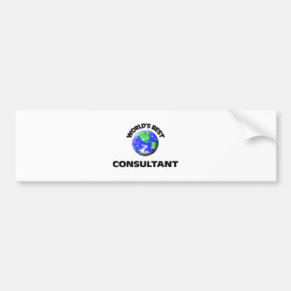 World s Best Consultant Bumper Stickers