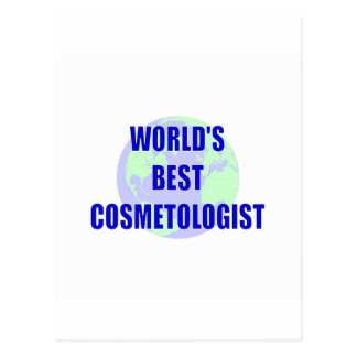 World s Best Cosmetologist Postcards