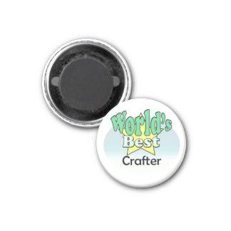 World s Best Crafter Magneet