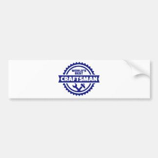 World's best craftsman bumper sticker