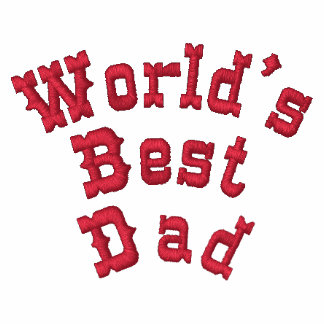 World s Best Dad Polo Shirts