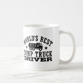 World's Best Dump Truck Driver Coffee Mug