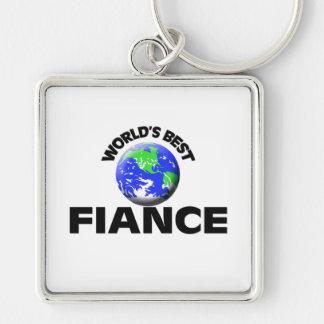World s Best Fiance Key Chain