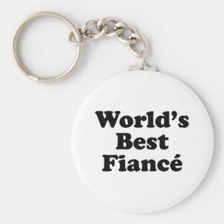 World s Best Fiance Key Chains