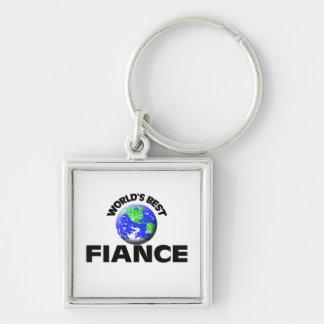 World s Best Fiance Keychains