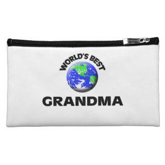 World s Best Grandma Cosmetic Bags