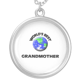 World s Best Grandmother Necklace