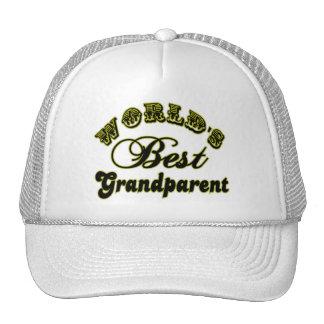 World s Best Grandparent Cap Hats