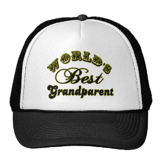 World s Best Grandparent Hat