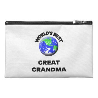 World s Best Great Grandma Travel Accessories Bags