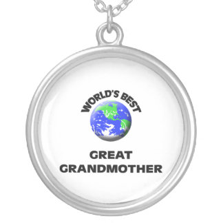 World s Best Great Grandmother Pendant