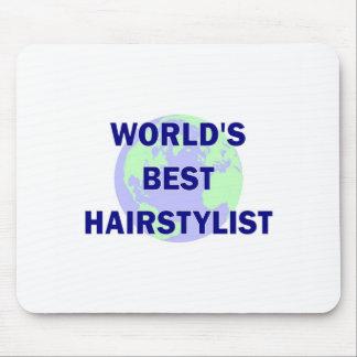 World s Best Hair Stylist Mousepad