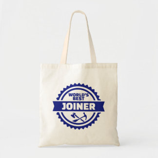 World's best joiner tote bag